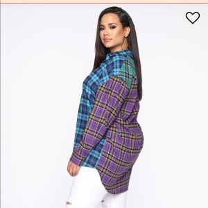 Fashion Nova Tops - Fashion Nova Oversized Shirt